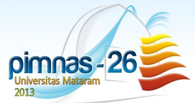 Logo dan maskot Pimnas 26