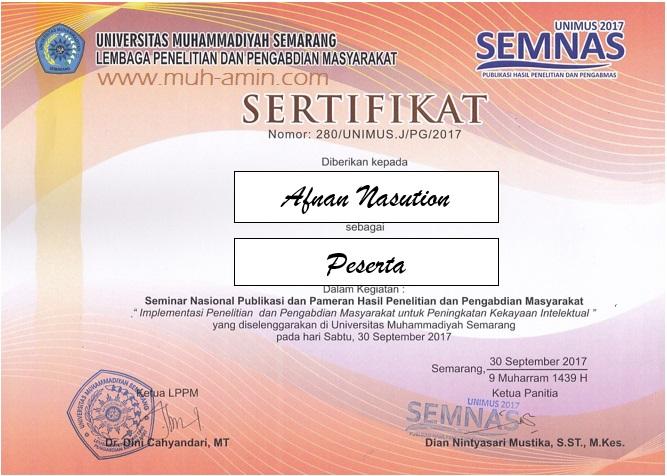 Membuat sertifikat dengan cepat