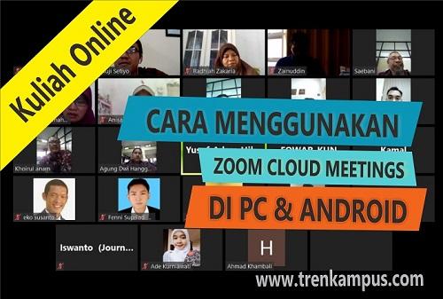 Cara Gunakan ZOOM Video Conference di PC dan Android | Tren Kampus