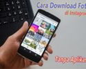 Cara download foto di DM instagram tanpa aplikasi