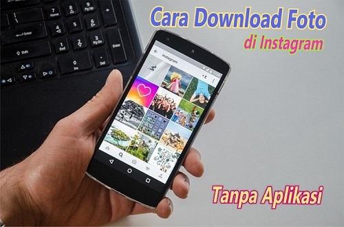 Cara download foto di DM instagram tanpa aplikasi