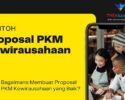 Proposal PKM Kewirausahaan